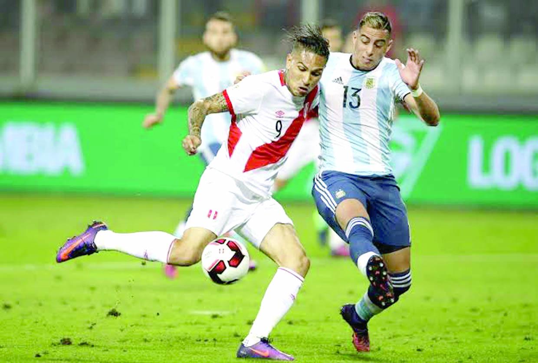 Perú jugaría amistoso contra Argentina