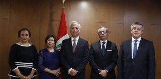 Aldo Vásquez fue nombrado presidente de la Junta Nacional de Justicia