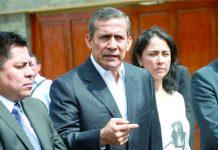 Dieron más de US$ 18 millones en coimas a Humala en Palacio
