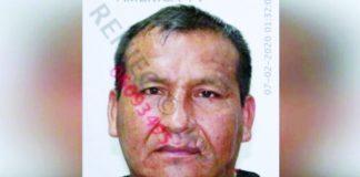 Cadáver de Juan José Oré Reynoso en la vía pública