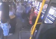 Asaltan a 21 pasajeros al interior de un bus