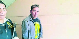 Sospechoso fue enviado a prisión preventiva por disposición judicial