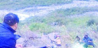 Despiste de camioneta en Huaura