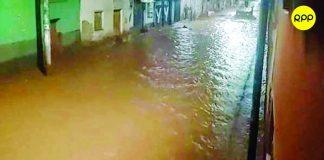 Desborde de río inunda varias viviendas en Pisac