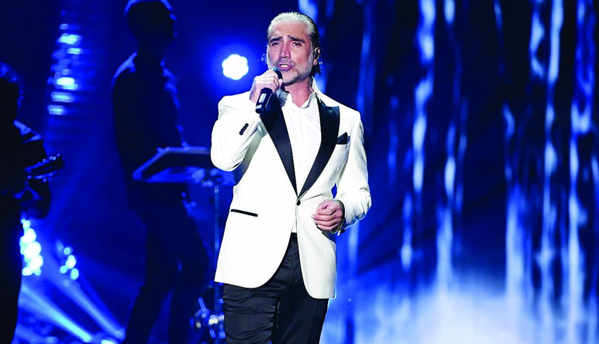Alejandro Fernández lanzó nuevo disco en San Valentín