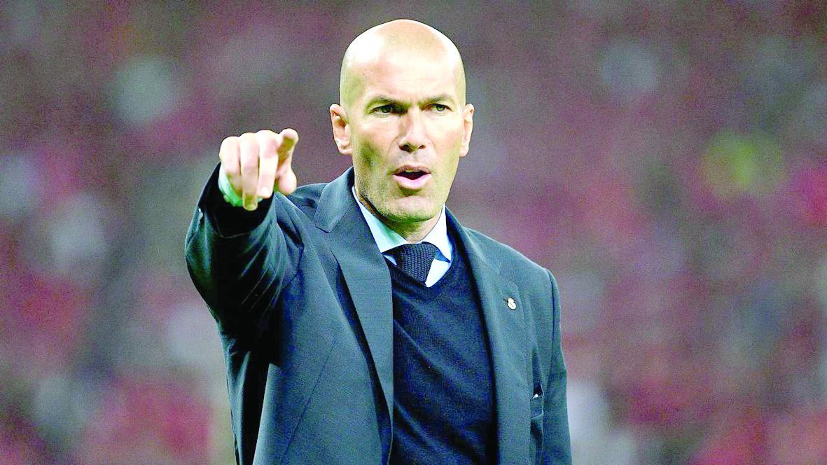 Zidane evitó hablar del castigo al Manchester U.