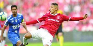 """Guerrero consigue con Inter empatar ante la """"U"""" de Chile"""