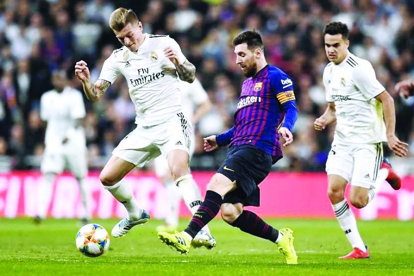 Primer clásico español del 2020 se jugará en marzo