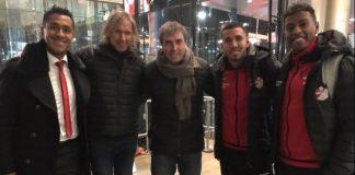 Gareca se reunió con Tapia, Araujo y Peña en Holanda