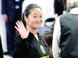 La misiva de Keiko Fujimori fue leída durante la primera reunión de la bancada Fuerza Popular.