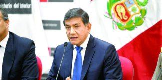 Carlos Morán dijo que el objetivo es regularizar la seguridad de los funcionarios del Estado.