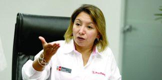 La ministra de la Producción, Rocío Barrios, confirmó reactivación del proyecto del Gasoducto, como pedía Odebrecht.