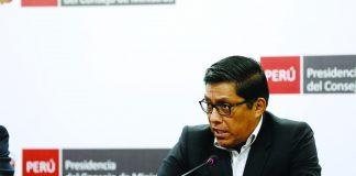El premier Vicente Zeballos dijo que los cambios de ministros se deben a que el gabinete necesitaba una reingeniería.