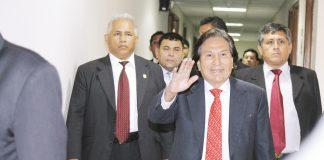 PJ confirma embargo de pensiones y gratificaciones a Toledo