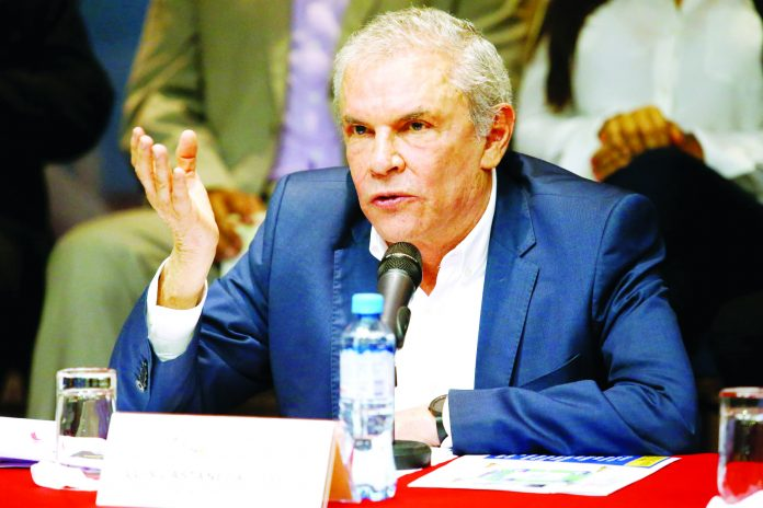 La Fiscalía ha solicitado 36 meses de prisión para Luis Castañeda por pago a OAS
