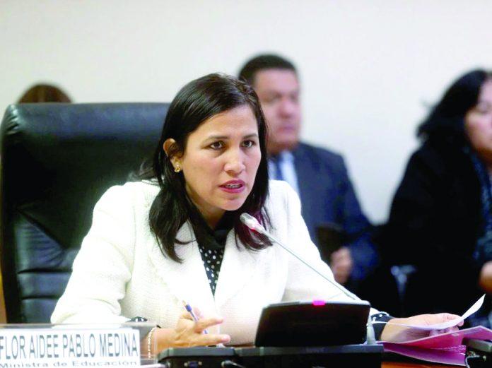 Flor Pablo señala que solo hubo una recomposición del gabinete de cara a una nueva etapa.