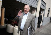 Rómulo León Romero declaró por dos horas ante el fiscal Tomassine John Tomasto Medrano.