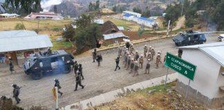 La Policía y las Fuerzas Armadas toman control de la vía por el plazo de 30 días.