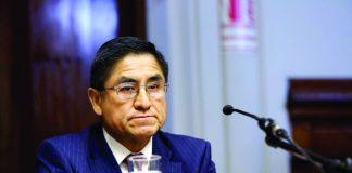El procurador Amado Enco solicitará la extradición de César Hinostroza por caso Los Cuellos Blancos.