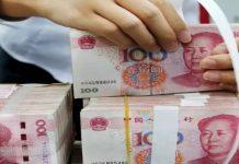 dinero en china