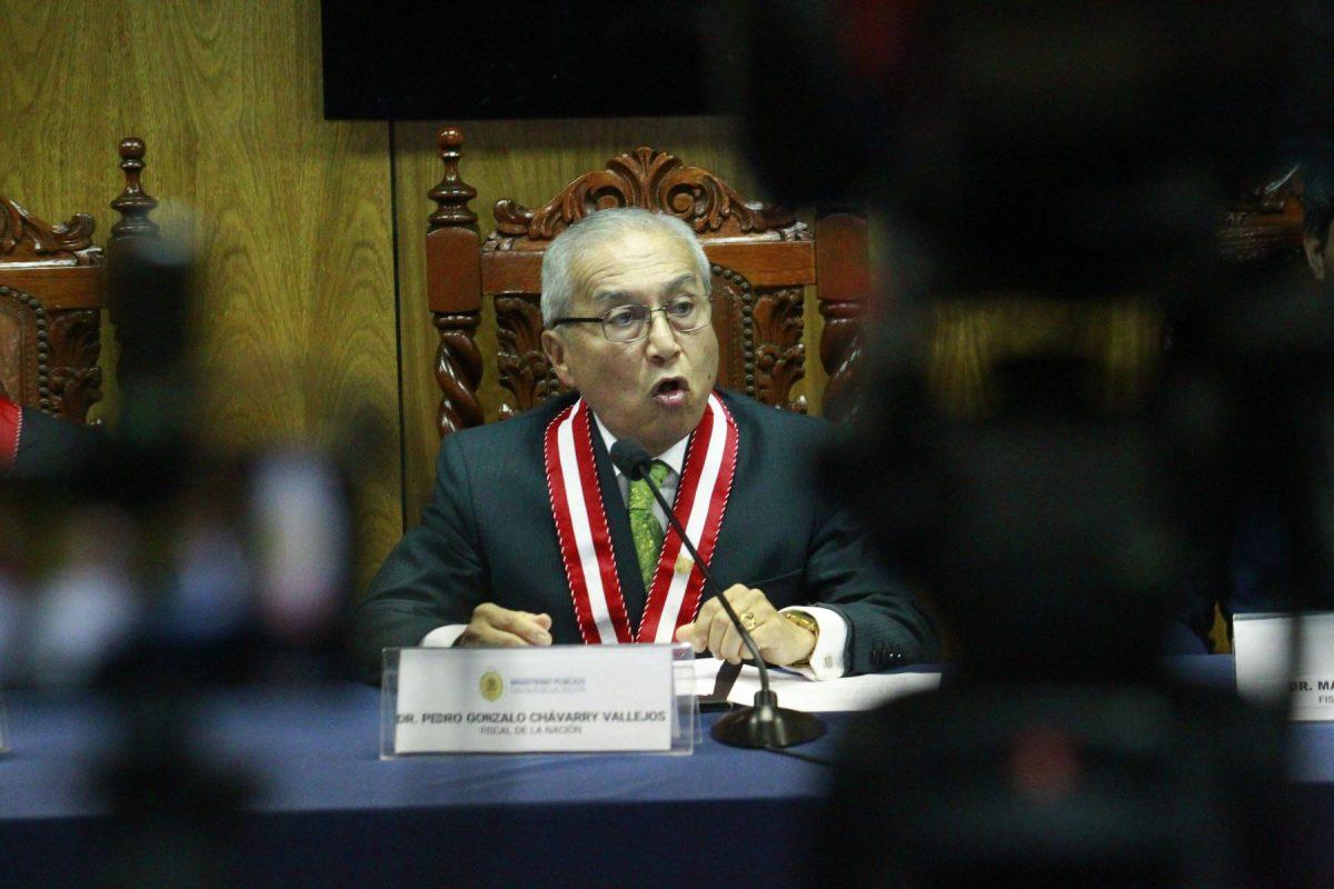 Fiscalía insiste en reabrir caso contra Pedro Chávarry