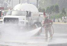 Camión de 5 mil galones tuvo una fuga de gas en el Callao