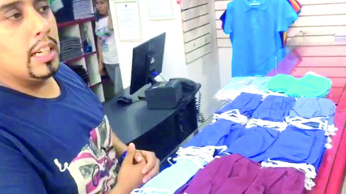 Comerciantes venden mascarillas sin certificado oficial
