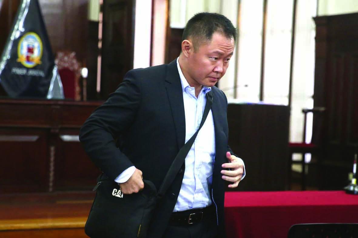 Procuraduría pide S/1 millón de reparación civil contra Kenji