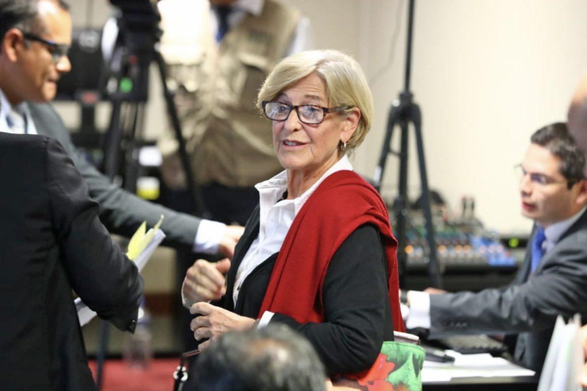 Ordenan excarcelación inmediata de Susana Villarán