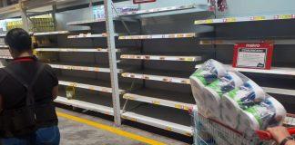 Peruanos entran en pánico