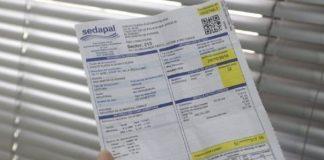 Sedapal se ha comprometido suspender el pago de los recibos de agua.