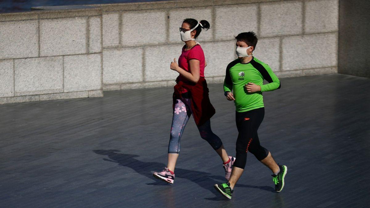 Personas podrán salir a caminar y correr durante cuarentena