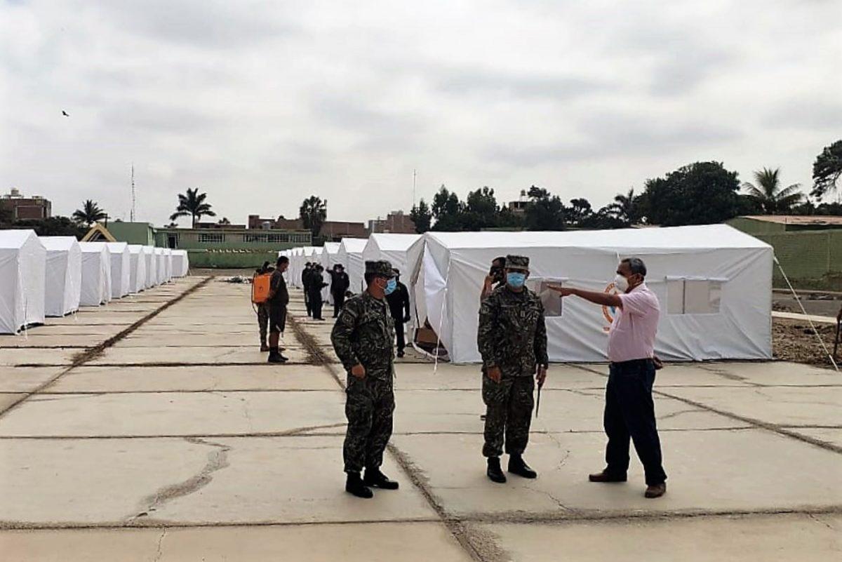 Lambayeque: Fiscalía interviene centro de aislamiento COVID-19