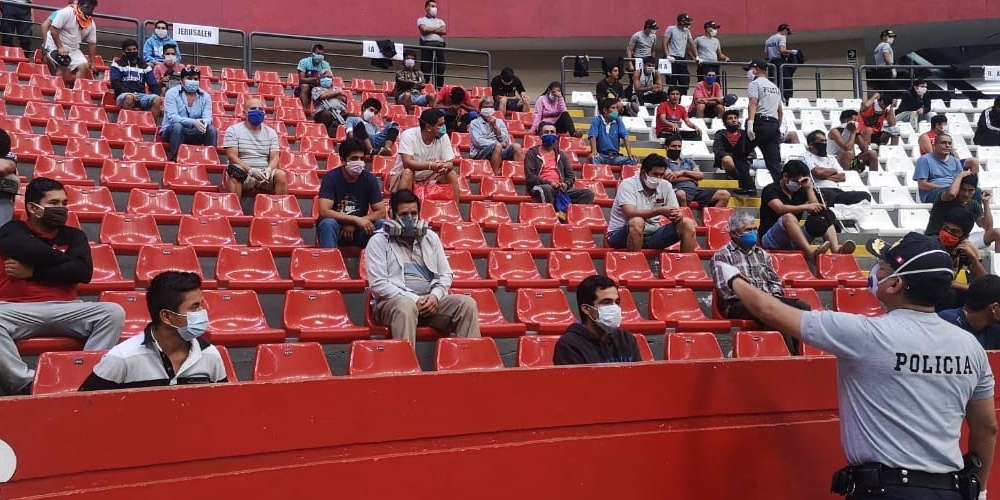 513 detenidos en La Libertad tras romper el toque de queda