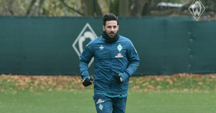 Pizarro retomará entrenamientos con Werder Bremen tras descartar Covid-19