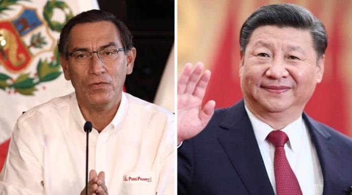 China ofrece ayuda al peru