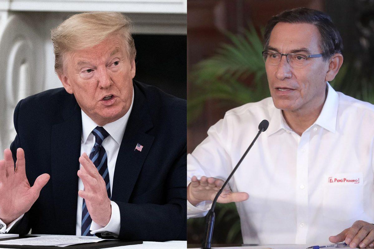 Donald Trump ofreció asistencia de su gobierno al Perú