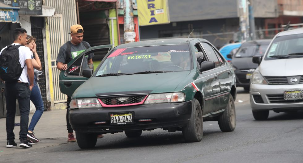 """Congreso aprueba ley que formaliza los """"taxis colectivos"""""""