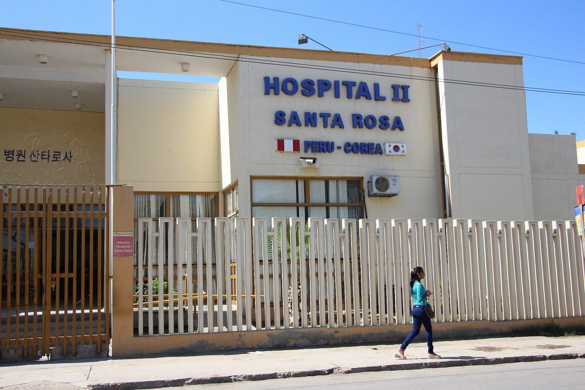 Hombre fallece en la puerta de hospital de Piura por falta de atención