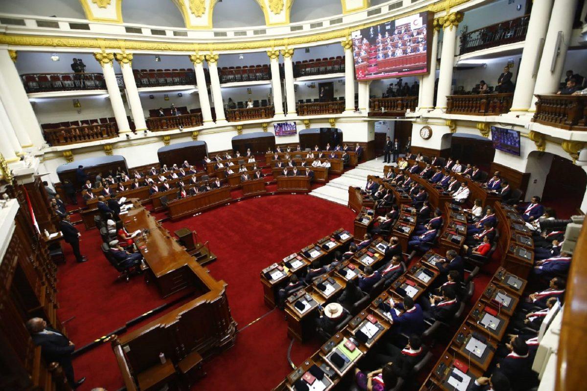 Proponen aumentar número de congresistas peruanos a 134