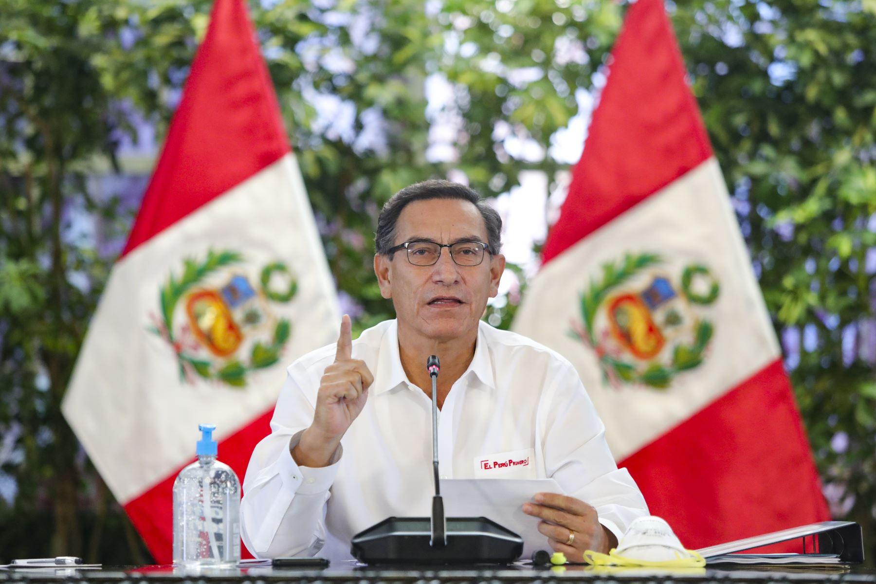 Comisión de Fiscalización investigará sobre presunto favorecimiento a amigos del presidente Vizcarra
