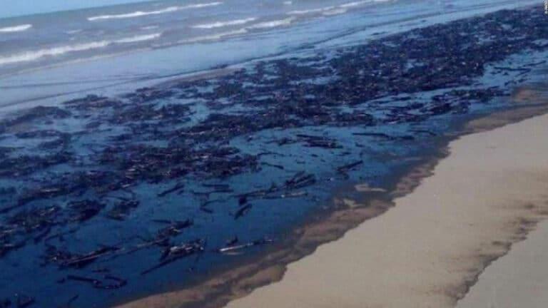 Derrame de petróleo afecta la fauna y flora marina en Venezuela