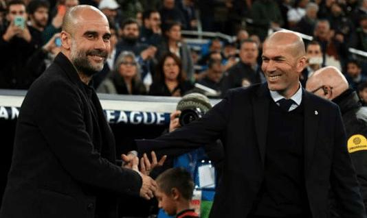 Guardiola y Zidane