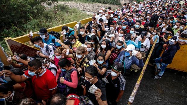 Más de 70.000 personas regresaron a Venezuela por pandemia