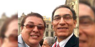 Vizcarra y Richard Cisneros