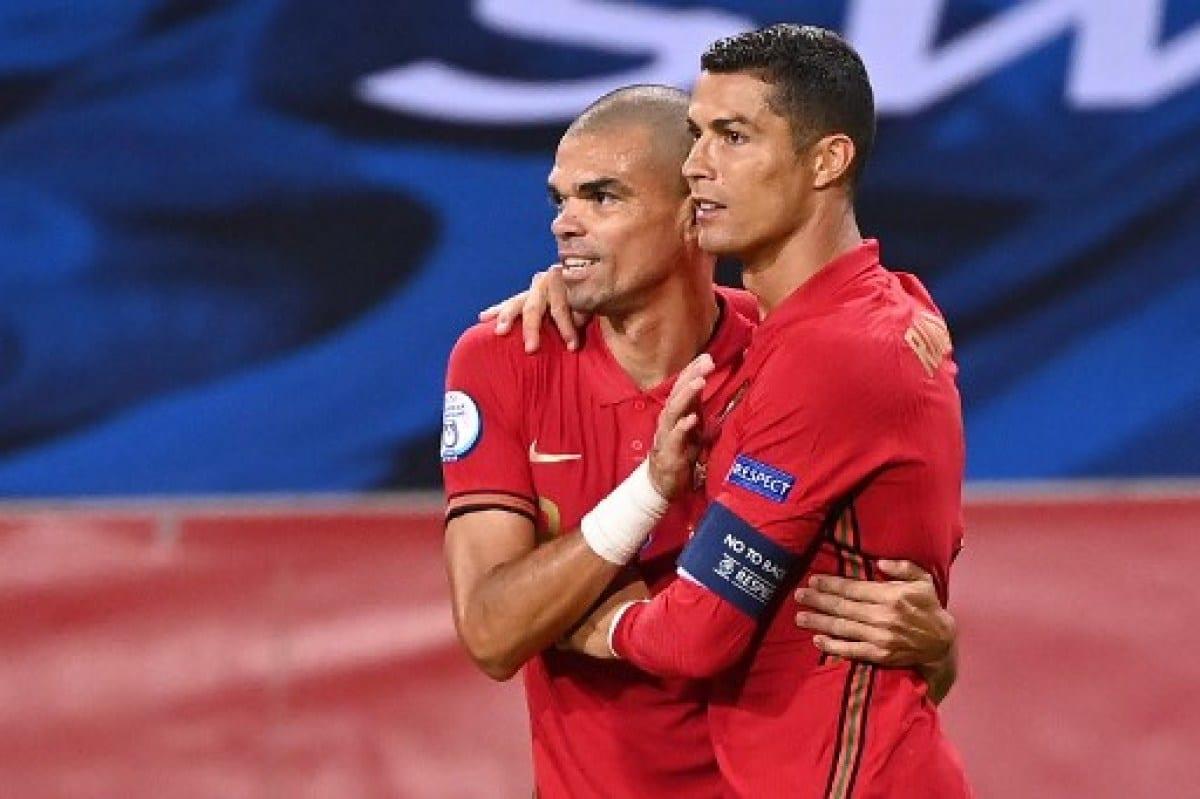 Cristiano Ronaldo hizo historia con Portugal