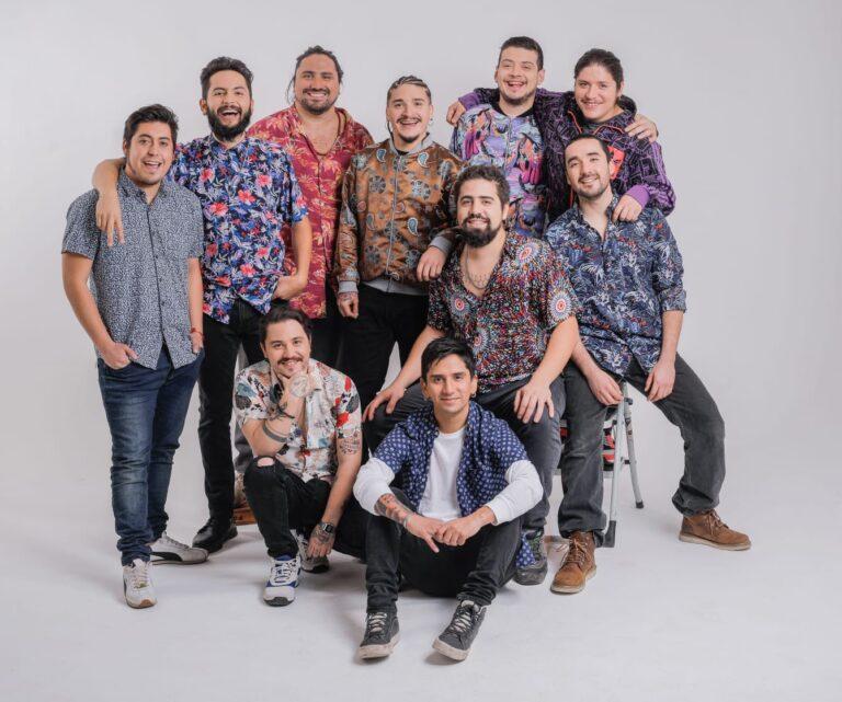 Santaferia, la banda chilena que se inspiró en Los Shapis y Los Mirlos