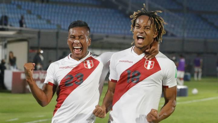 André Carrillo rescató el empate en Asunción