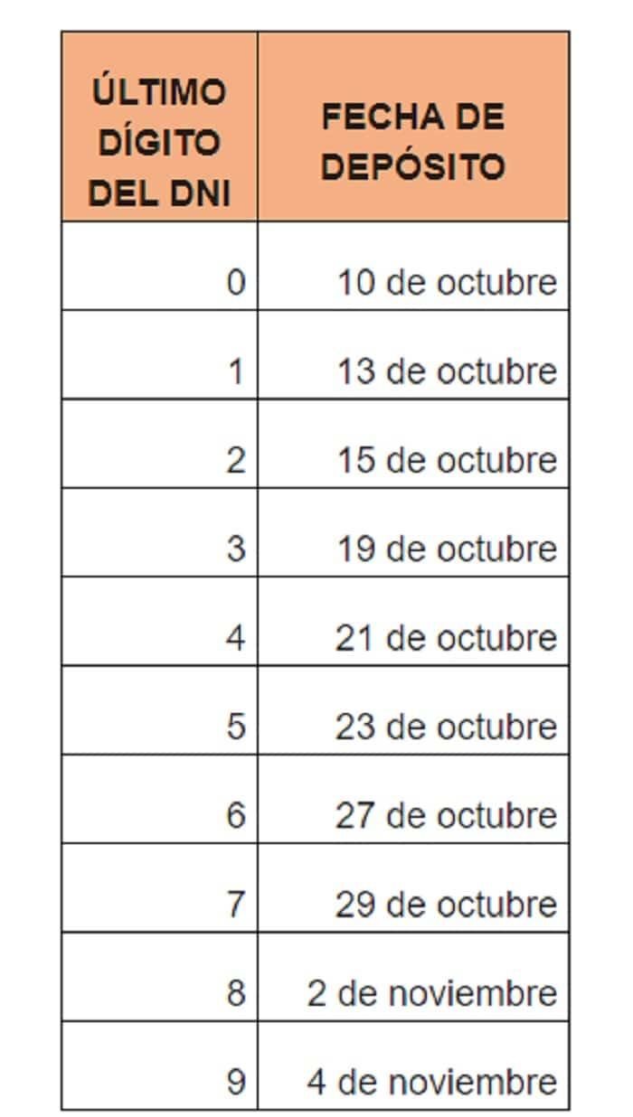 cronograma bono
