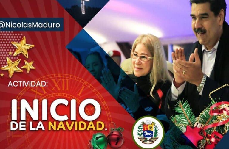 Nicolás Maduro adelantó la Navidad en Venezuela
